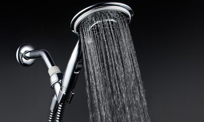 DreamSpa 7-Setting Rainfall Hand Shower: DreamSpa 7-Setting Rainfall Hand Shower. Free Returns.