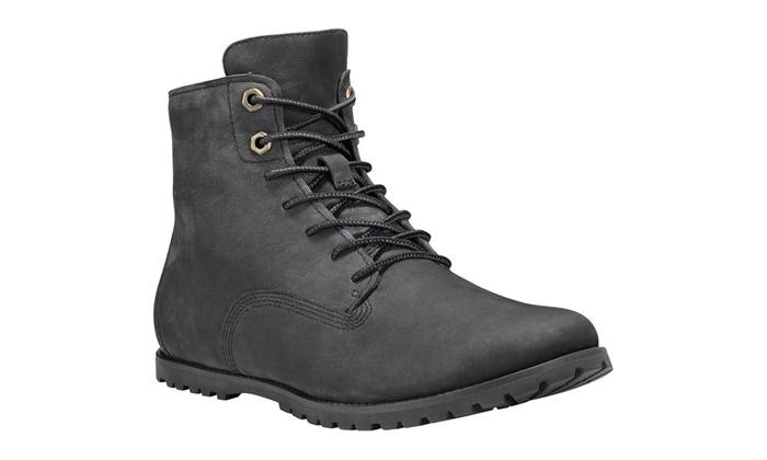 Boots Timberland en cuir   Groupon