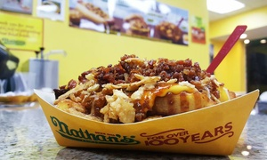 Up to 40% Off at Nathan's/Just Wing It/Ashley's Ice Cream at Nathan's/Just Wing It/Ashley's Ice Cream, plus 6.0% Cash Back from Ebates.