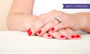 Rejuvalase beauty: Gelish Nails or Full Manicure with Polish at Rejuvalase Beauty (Up to 44% Off)