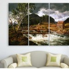 """3-Panel Landscape Gallery Wrapped Canvas Artwork (36"""" x 28"""")"""