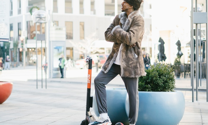 Electric Scooter Rides - Spin | Groupon