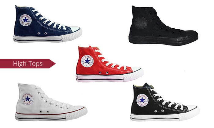 Groupon Goods: $59 for One Pair of Converse Chuck Taylor All-Star High-Tops (Don't Pay $104.64)