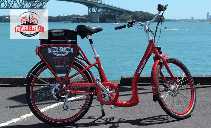 Guided Electric Bike Tour for One, Two, Four or Six with Power to the Pedal (Up to $414 Value)