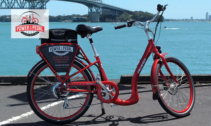 Power To The Pedal - Auckland: Guided Electric Bike Tour for One, Two, Four or Six with Power to the Pedal (Up to $414 Value)
