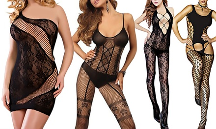 One (AED 49), Two (AED 89), Four (AED 159) or Eight (AED 279) Elegant Body Stockings