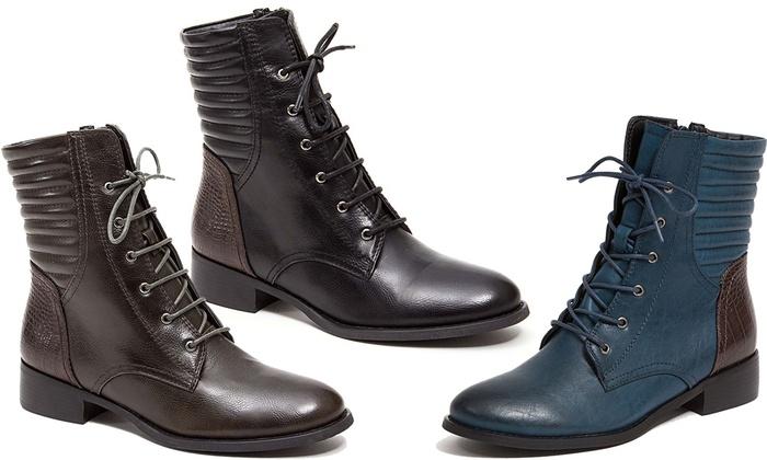 Mid-Calf Lace-Up Chukka Boots