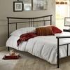 Vera Complete Metal Platform Bed by Maxrest