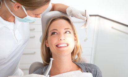 image for <strong>Dental</strong> Cleaning Package from John L. Burch DDS (90% Off)