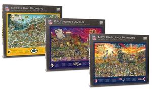 YouTheFan NFL Joe Journeyman 500-Piece Puzzle
