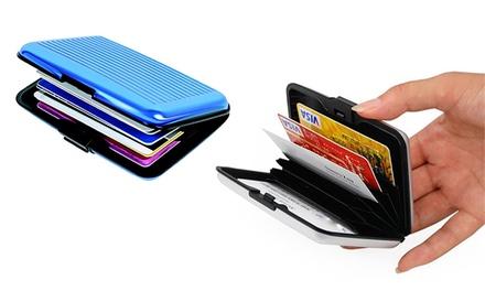 Aluminium Card Wallet