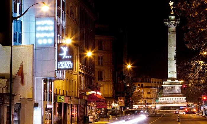 H tel paris bastille paris ile de france groupon getaways for Groupon hotel paris