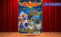 """1 entrée au cirque """"La Piste aux Etoiles"""" en gradin de face pour un adulte ou un enfant à 12,50 € à Libourne"""