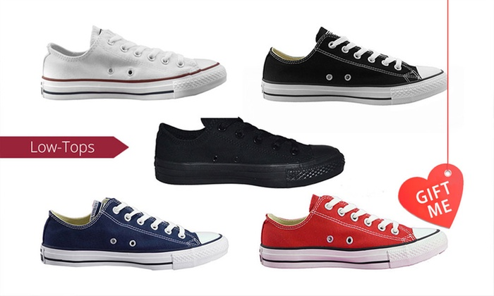 Groupon Goods: $59 for One Pair of Converse Chuck Taylor All-Star Low-Tops (Don't Pay $100)