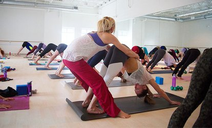 image for 10-Class or Two Months Unlimited-Class Pass for Yoga, <strong>Pilates</strong>, or Barre at The Firm MPLS (Up to 83% Off)