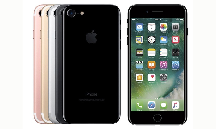 neuf apple iphone 7 32gb groupon. Black Bedroom Furniture Sets. Home Design Ideas