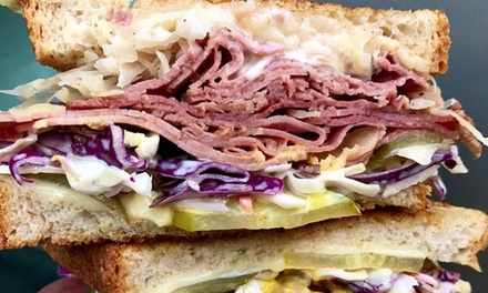 $6.90 for Gourmet American Sandwich or Roll at Mason Dixon American Sandwich Bar Up to $15 Value