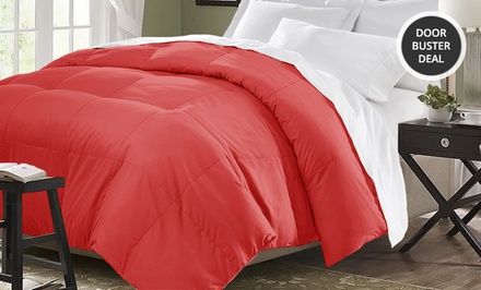 All Season Down Alternative Comforter. Multiple Colors Available. Free Returns.