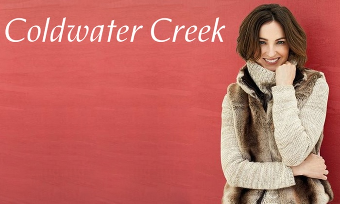 Coldwater Creek - Multiple Locations: $25 for $50 Worth of Women's Apparel and Accessories at Coldwater Creek