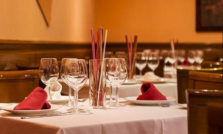 Menú para dos con entrantes, chuletón de 1kg, botella de vino y opción a postre desde 35,95 € en Restaurante Helma