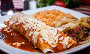 Poblano's Mexican Grill: Mexican Lunch for Two or Dinner for Two or Four at Poblano's Mexican Grill (Up to 50% Off)