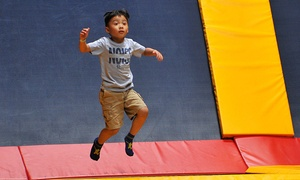 Sky High Sports: Two Hours of Jump Time at Sky High Sports ( 46% Off). Two Options Available.