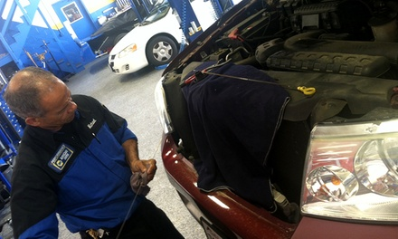 One or Three Oil Changes, AC Check, or Fuel-Injection Service at Performance NAPA Auto Care (Up to 52% Off)