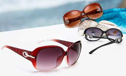 image placeholder image for One, Two, or Three Pairs of Women's Gorgeous  Retro Sunglasses from Novadab