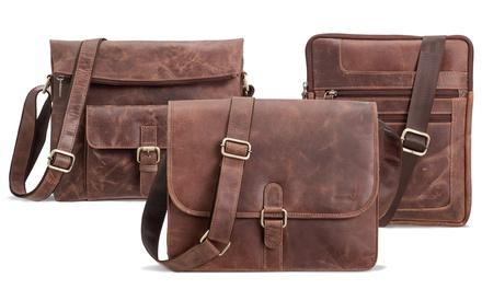 PackengerUmhängetaschen und Laptoptaschen aus Rinderleder im Modell nach Wahl