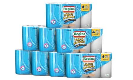 12 Regina Thirst Pockets Towel Rolls