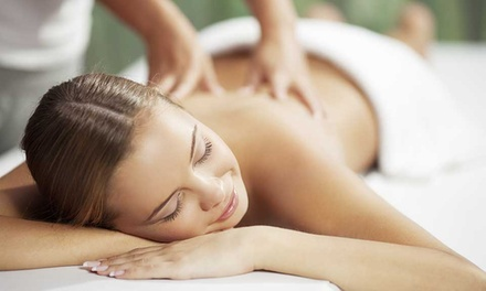 60-Minute Massage with One or Two Optional Sauna Therapies at Massage Green Spa (Up to 54% Off)