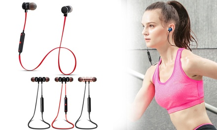 ipipoo iL93BL Wireless Smart Sports Stereo Earphones: One $19 or Two $35 Pairs