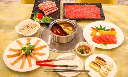 Seafood Buffet + Drinks: Lunch for 1 ($43) for 2 ($99), or Dinner for 2 Ppl ($123) at Legend Hotpot Buffet (Up to $154)