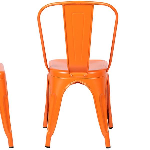 Astonishing Poly Bark Trattoria Side Chair Bralicious Painted Fabric Chair Ideas Braliciousco