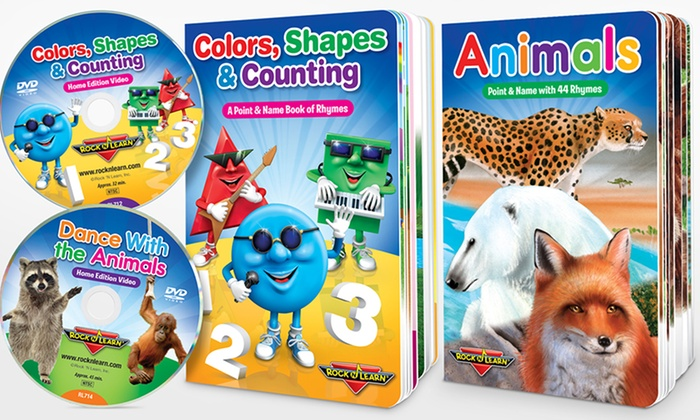 Up To 73% Off On Rock 'N Learn Board Book/DVD Set