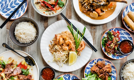 Three-Course Thai Dinner for Two ($39) or Four People ($78) at Arrin Thai Restaurant (Up to $132 Value)