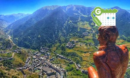 Andorra: habitación twin con desayuno o media pensión y detalle de bienvenida para 2 en Patagonia Atiram