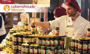 Lebensfreude Messe: 2 Tagestickets für die Lebensfreude Messe im März oder April 2018 in Lübeck, Hamburg oder Frankfurt (bis zu 52% sparen)