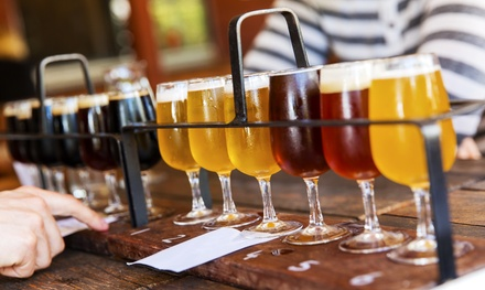 You-Pick Beer, Wine, and Cider Samples for Two or Four at Cascade Winery & Jaden James Brewery (42% Off)