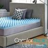 """ComforPedic Loft from Beautyrest 4"""" Reversible Gel Memory Foam Topper"""
