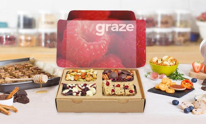 graze.com: Four Snack-Box Deliveries from graze.com