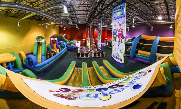 Jumpin' Jamboree - Doral: Kids' Bounce Visit for Two or Four or Party for Eight Children at Jumpin' Jamboree (Up to 36% Off)