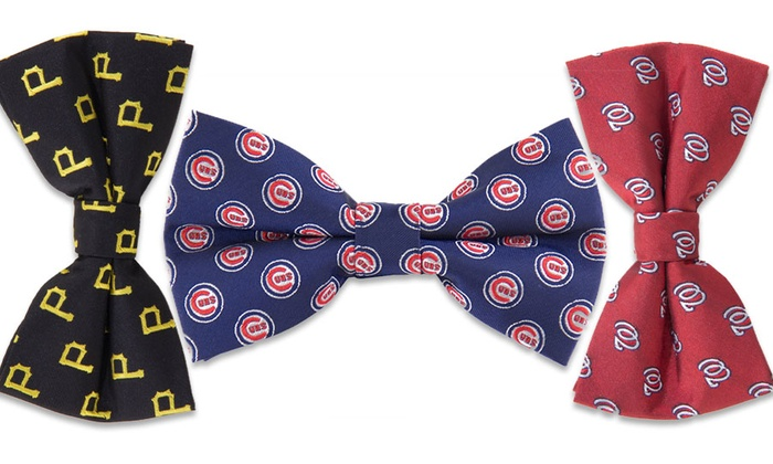 MLB Men's Repeat Logo Bowties