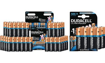 Duracell Ultra Power Batteries