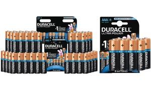 Piles Duracell AA et AAA