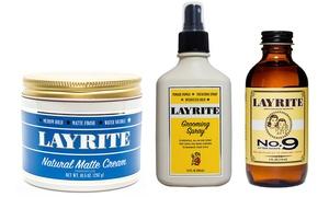 Layrite Pomade, Supershine, Matte Cream, Clay & More