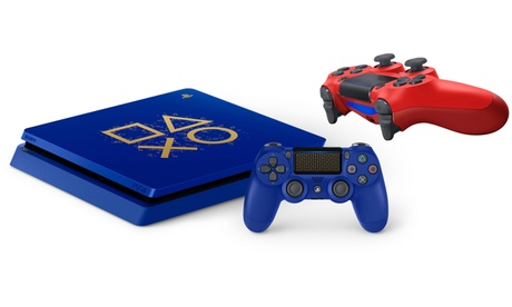 Pre-Order: Sony PlayStation 4 1TB Blue Limited-Edition System with Magma Red DualShock 4 Controller and Far Cry 5 5053ca18-634a-11e8-8b47-002590604002