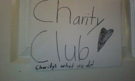 $1 for $2 Worth of Products — Charity Club