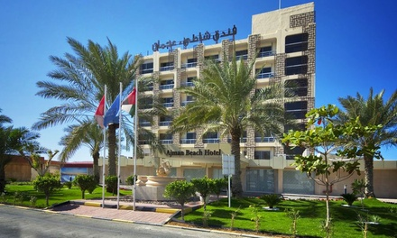 Ajman: 1 or 2 Nights For Two With Breakfast at the Ajman Beach Hotel