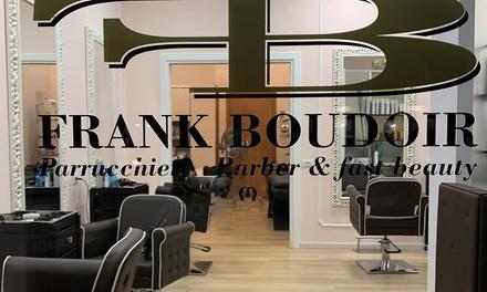 Pacchetto bellezza per capelli con taglio, piega e colore in centro, da Frank Boudoir Parrucchieri (sconto fino a 78%)